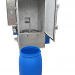 Decontaminated 55 gallon drum
