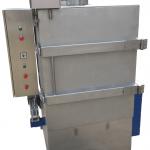 Rotajet atex drum washer during operation
