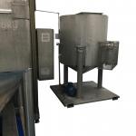Solvent refinement tank for distillation