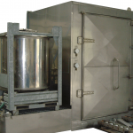 IBC washer with refinement tank as a standalone unit