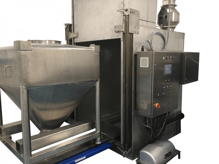 Steel IBC ATEX certified washer