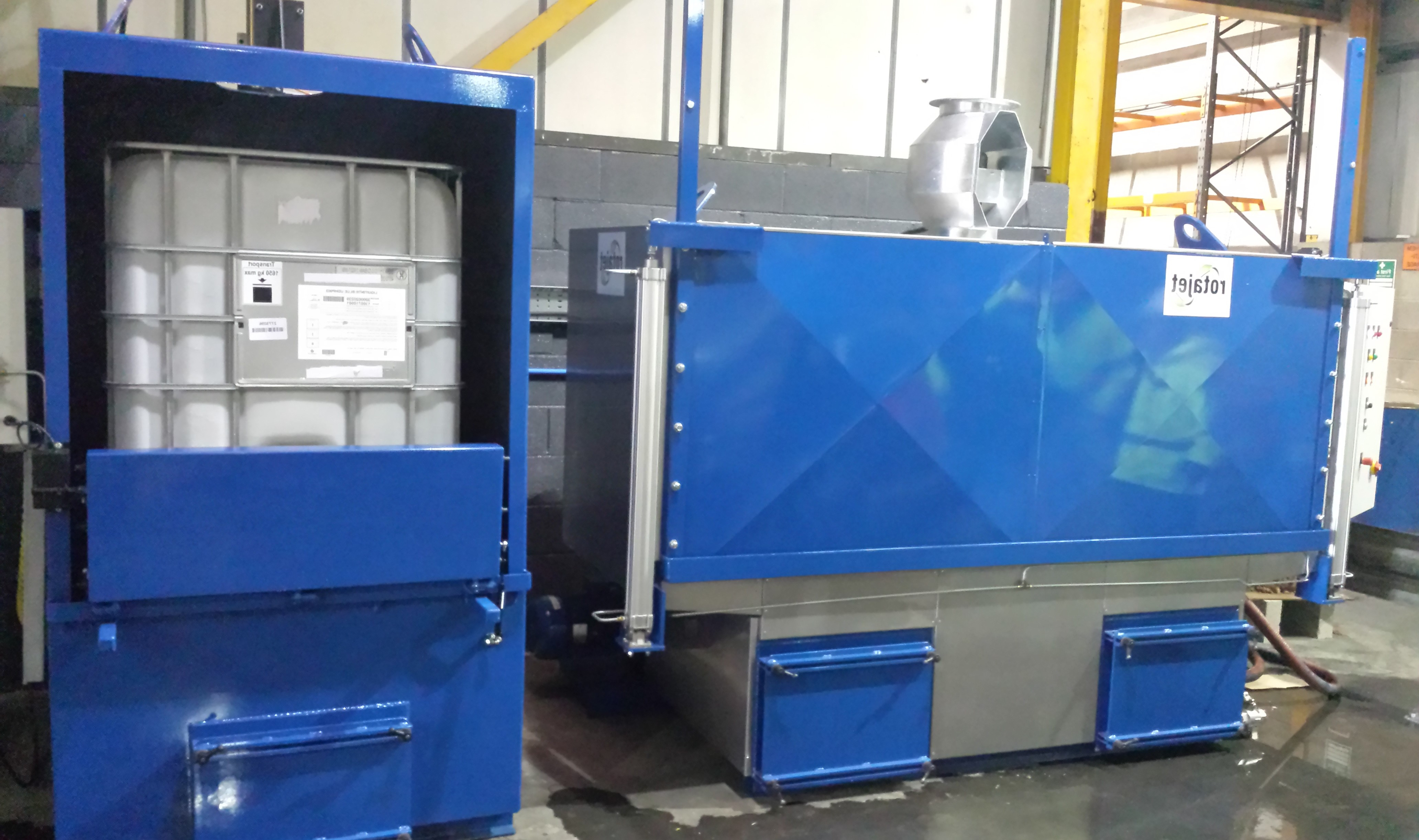 Atex certified IBC Washer